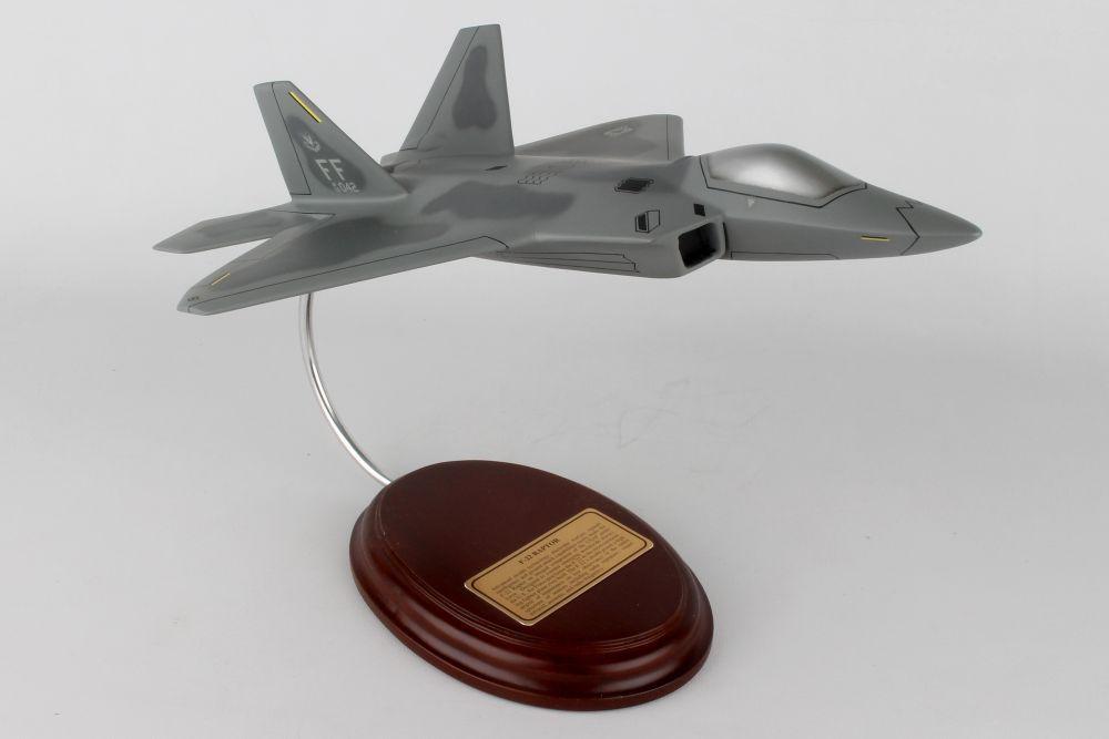 EXECUTIVE SERIES AIRCRAFT MODEL F-22 RAPTOR 1//57 GENERIC BNB30057