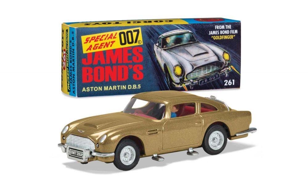 Corgi James Bond Aston Martin Db5 Goldfinger 1 43