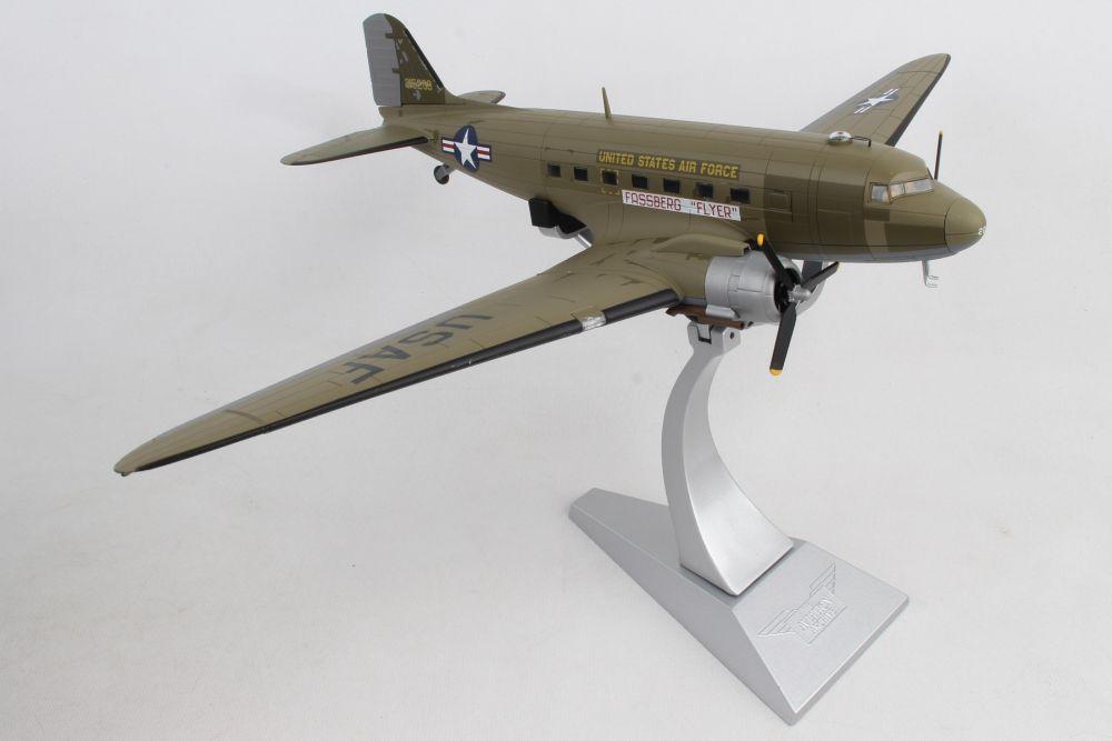 Douglas C-47 A Skytrain `Fassberg Flyer` Diecast Model Airplane