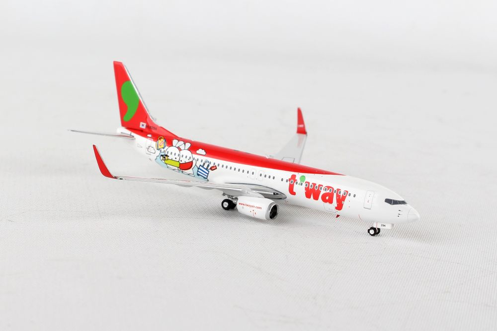 Apollo 400 scale diecast model Casino Express Boeing 737 commercial airliner