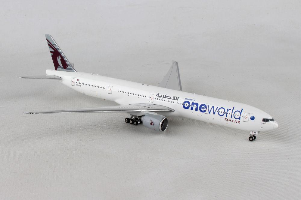 PHOENIX QATAR 777-300ER 1/400 ONE WORLD REG#A7-BAB