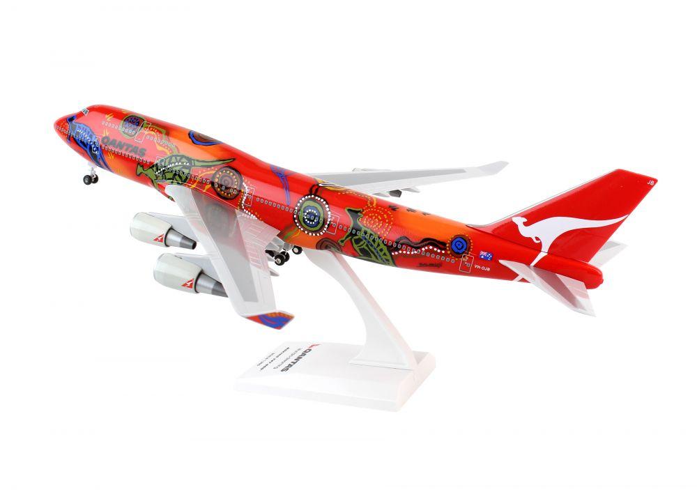 Qantas Airways wunala Dreaming Boeing 747-400 1:200 skymarks skr406 b747 NUOVO