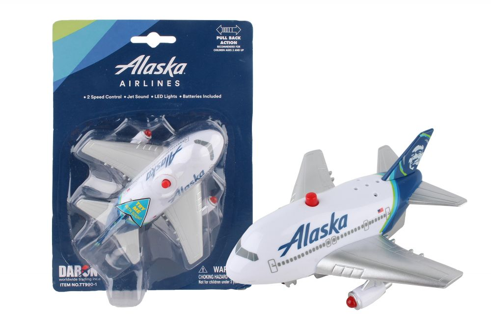ALASKA AIRLINES PULLBACK W/LIGHT & SOUND NEW LIVERY
