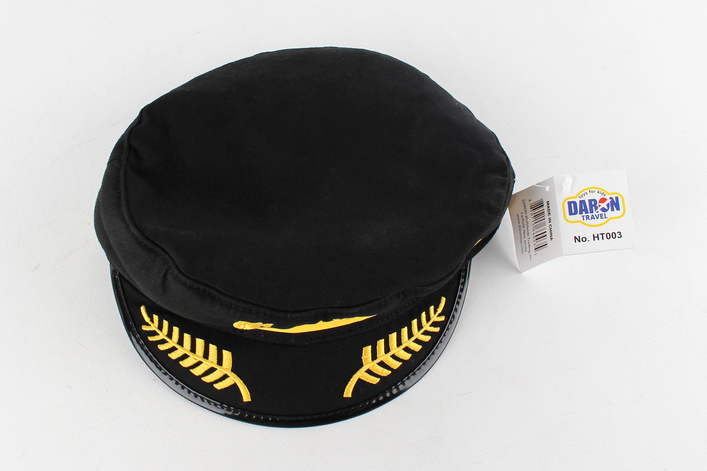 """HT003 - """"delta Airlines Pilot Hat"""""""