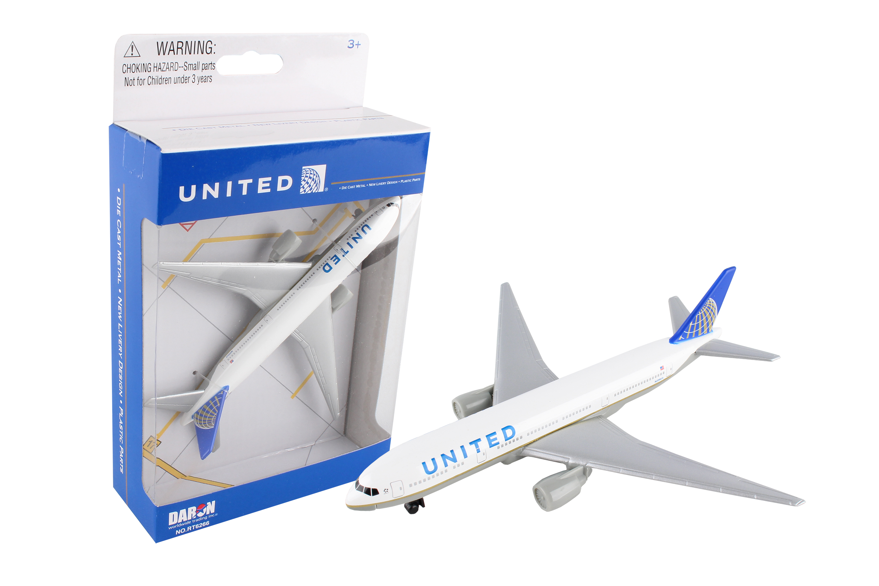 """RT6266 - """"united Airlines 777 Single Plane"""""""