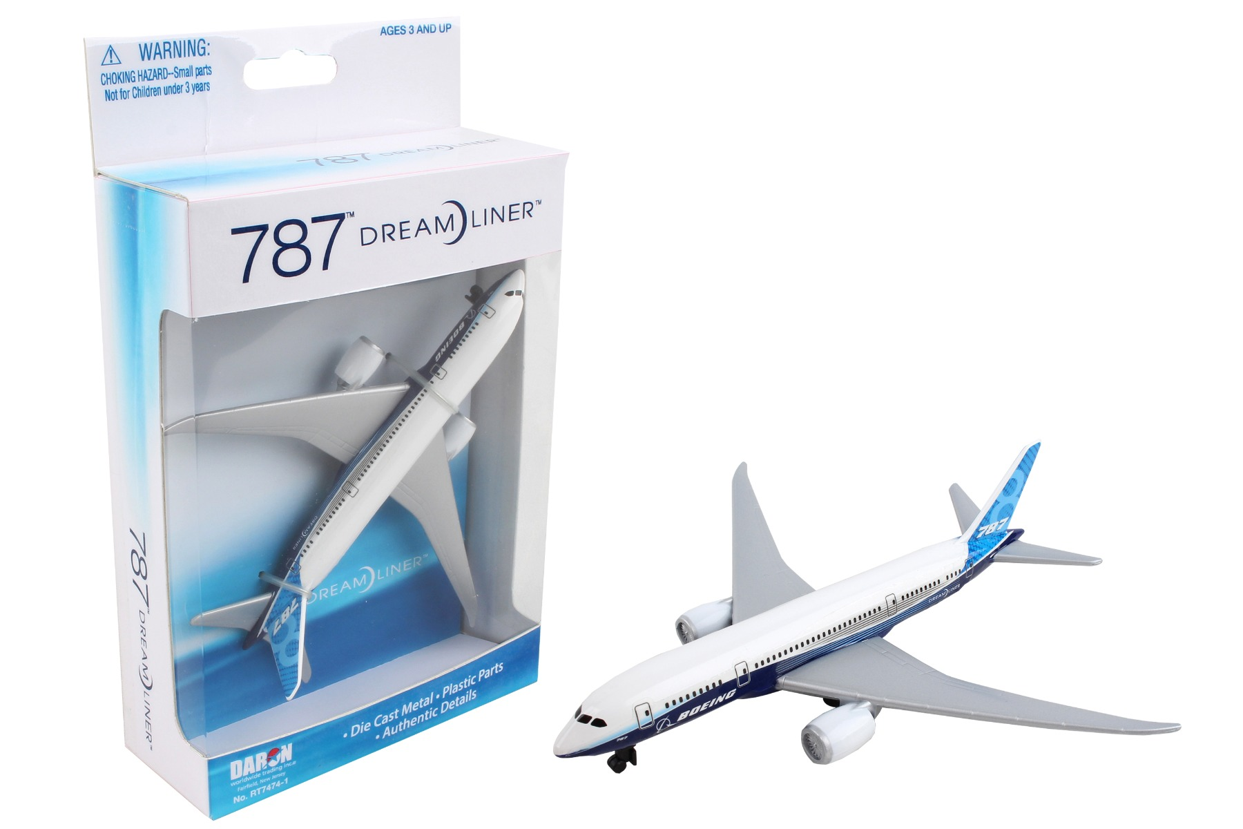 """RT7474-1 - """"boeing 787 Single Plane New Livery"""""""