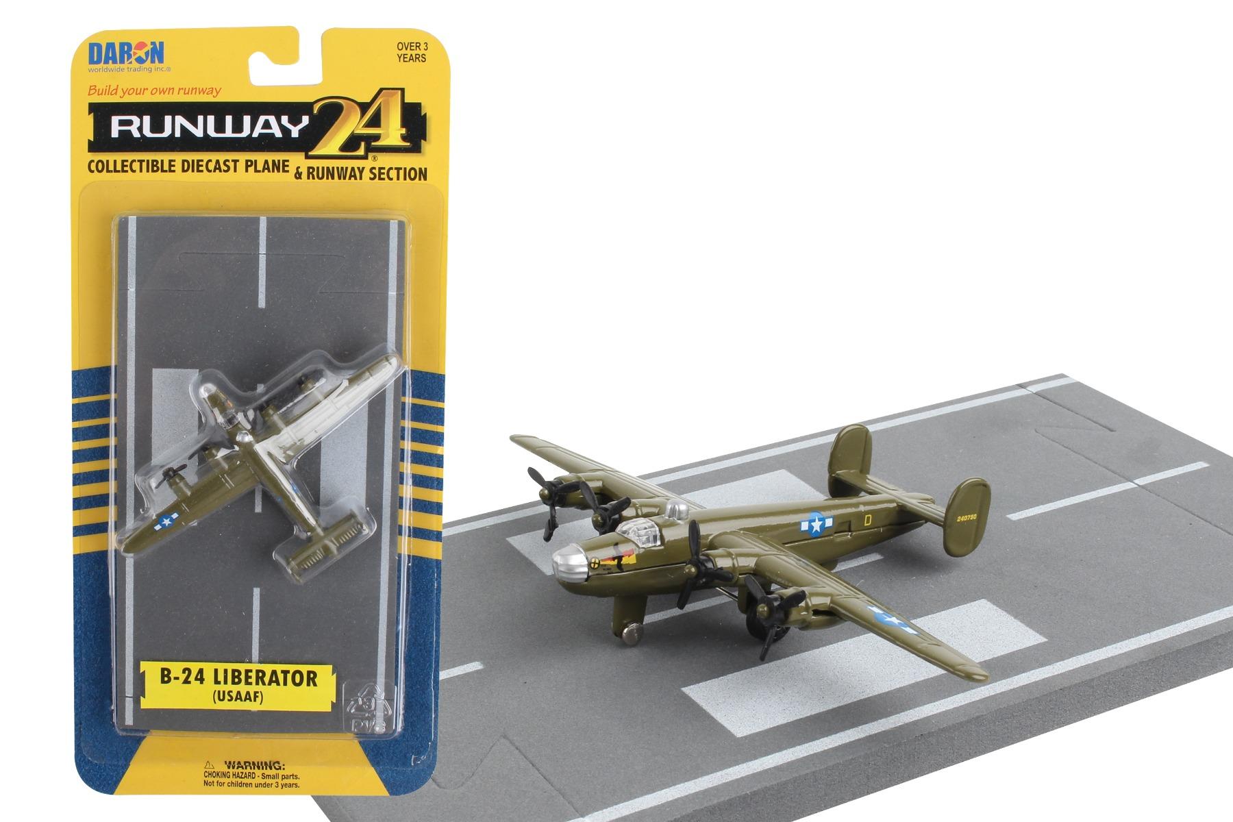 "RW045 - ""runway24 B-24 Liberator Olive"""
