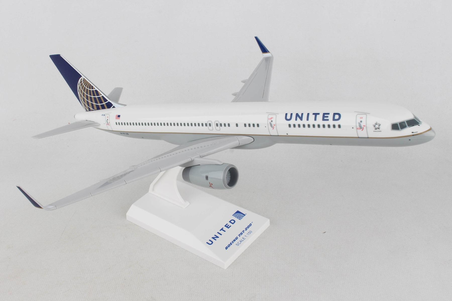 """SKR598 - """"skymarks United 757-200er 1/150 Post Co Merger Livery"""""""