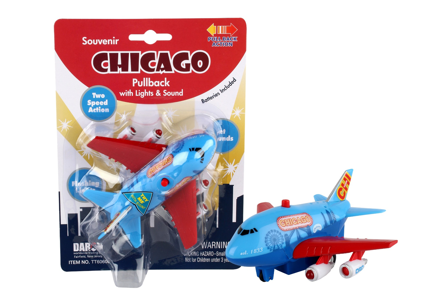 "TT60606 - ""chicago Pullback W/light & Sound"""