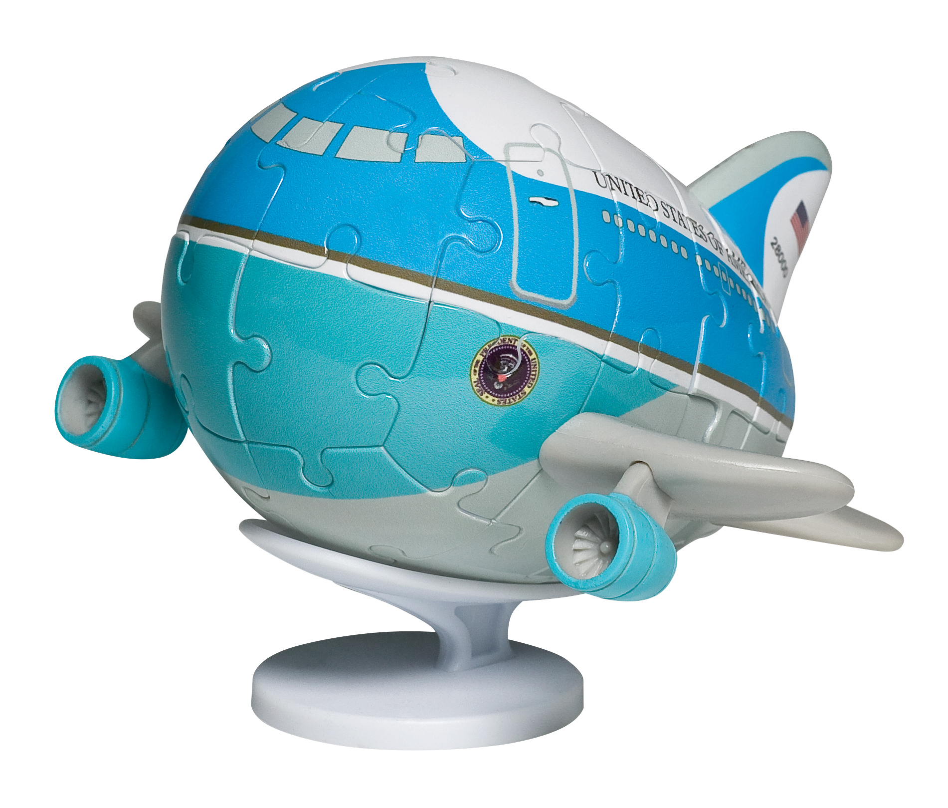 """UT60007 - """"air Force One Puzzle Plane """""""